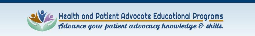 Patient or Health Advocacy Program Review Banner