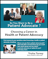 cover - So You Want to Be a Patient Advocate?  Choosing a Career in Health or Patient Advocacy