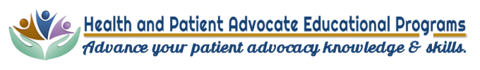Health and Patient Advocate Educational Programs